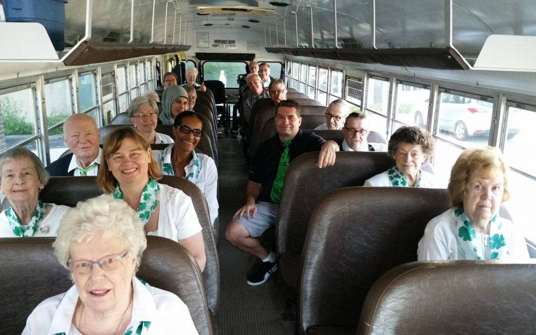 The St. Pat's Choir Hits The Road!