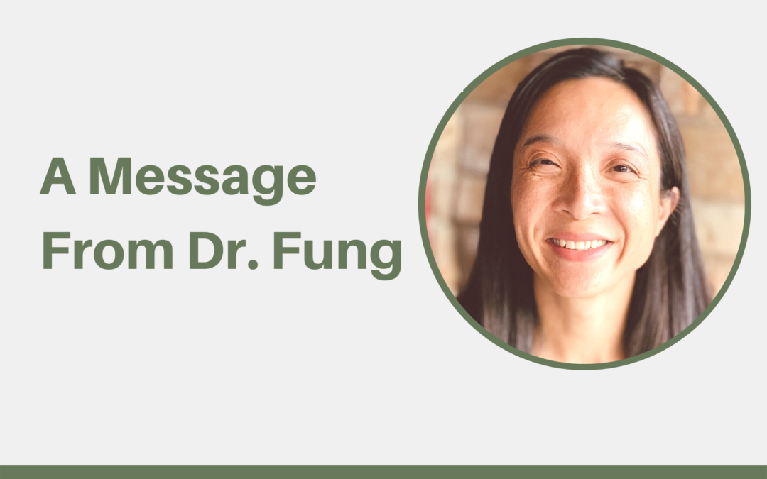 A Message From Dr. Fung