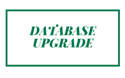 Database Upgrade
